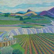Okanagan Valley Art Print