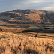 Okanagan Valley Sunset Glow Art Print