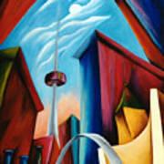 O'keeffe's Toronto Art Print