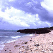 Okinawa Beach 15 Art Print