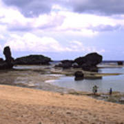 Okinawa Beach 18 Art Print
