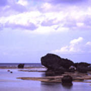 Okinawa Beach 20 Art Print
