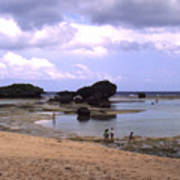 Okinawa Beach 3 Art Print