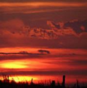 Oklahoma Sky At Daybreak  Art Print