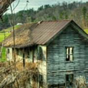 Old Abandoned Home Art Print