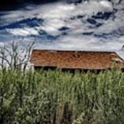 old abandoned house Texico NM Art Print