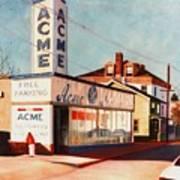 Old Acme Lambertville Nj Art Print