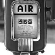 Old Air Pump Art Print by Arni Katz