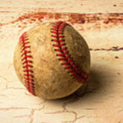 Old American Baseball Art Print