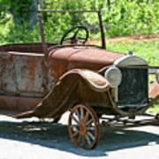 Old Antique Vehicle Art Print