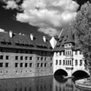 Old Architecture  Nuremberg Art Print