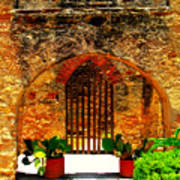 Old Archway  Art Print