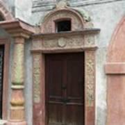 Old Austrian Door Art Print