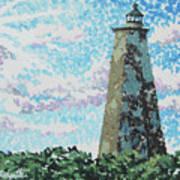 Old Baldy Lighthouse Art Print