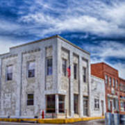Old Bank Building - Peterstown West Virginia Art Print