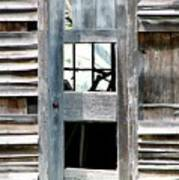 Old Barn Closeup Art Print