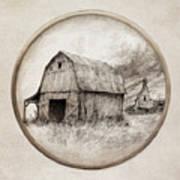Old Barn Art Print