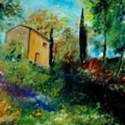 Old Barn In Provence  Art Print