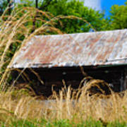 Old Barn In Roxborough Art Print