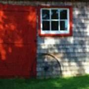 Old Barn New Paint Art Print