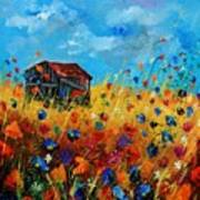 Old Barn  Print by Pol Ledent