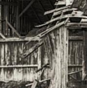Old Barn Ruin 3 Art Print