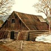Old Barn Series 1 Art Print