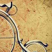Old Bicycle-part Two Art Print