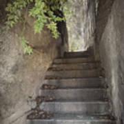 Old Bisbee Stairway Art Print