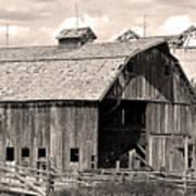 Old Boulder County Colorado Barn Art Print