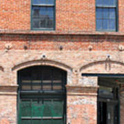 Old Brick Building Art Print