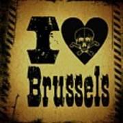 Old Brussels Art Print