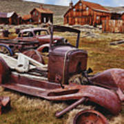 Old Cars Bodie Art Print