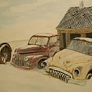Old Cars Art Print