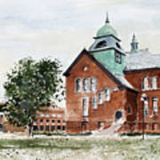 Oklahoma State University Old Central Art Print