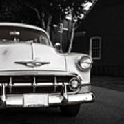 Old Chevy Connecticut Art Print
