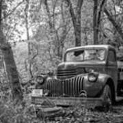 Old Chevy Oil Truck 2 Art Print