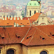 Old Church In Prague Art Print