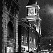 Old City Hall Print by Wade Aiken