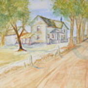 Old Country House Art Print