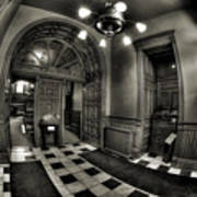 Old Courthouse Entryway Art Print