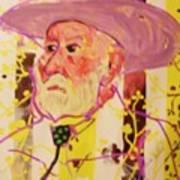 Old Cowboy Art Print