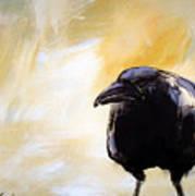 Old Crow Art Print