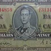 Old Currency  Art Print