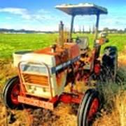 Old David Brown Tractor  Art Print
