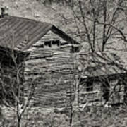 Old Deserted Farmhouse 3 Art Print