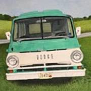 Old Dodge Art Print