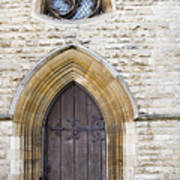 Old Door And Window York Art Print