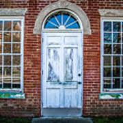 Old Door And Windows Art Print