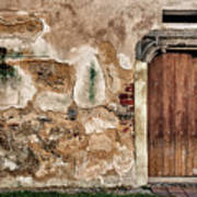 Old Door. Art Print